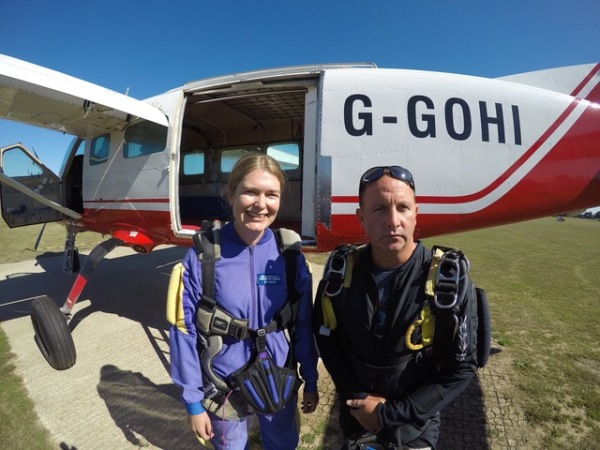 A HUGE Thank You to Louise Cross for her charity Skydive